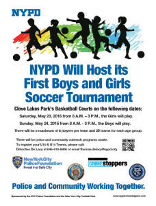 nypd soccer