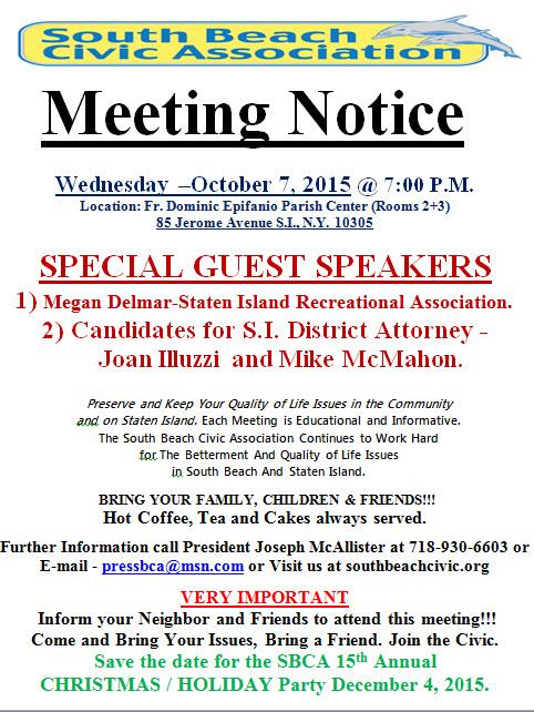 meeting oct 2015