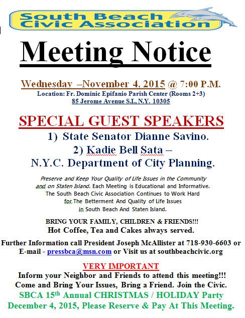 nov meeting