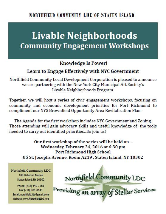 livable neighorhoods