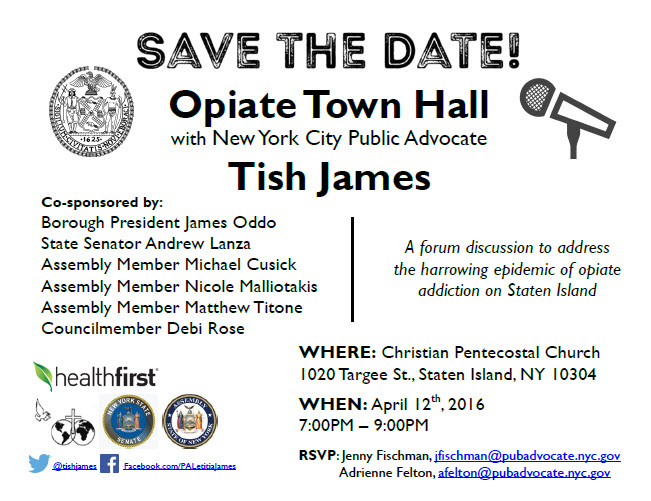 opiate town hall