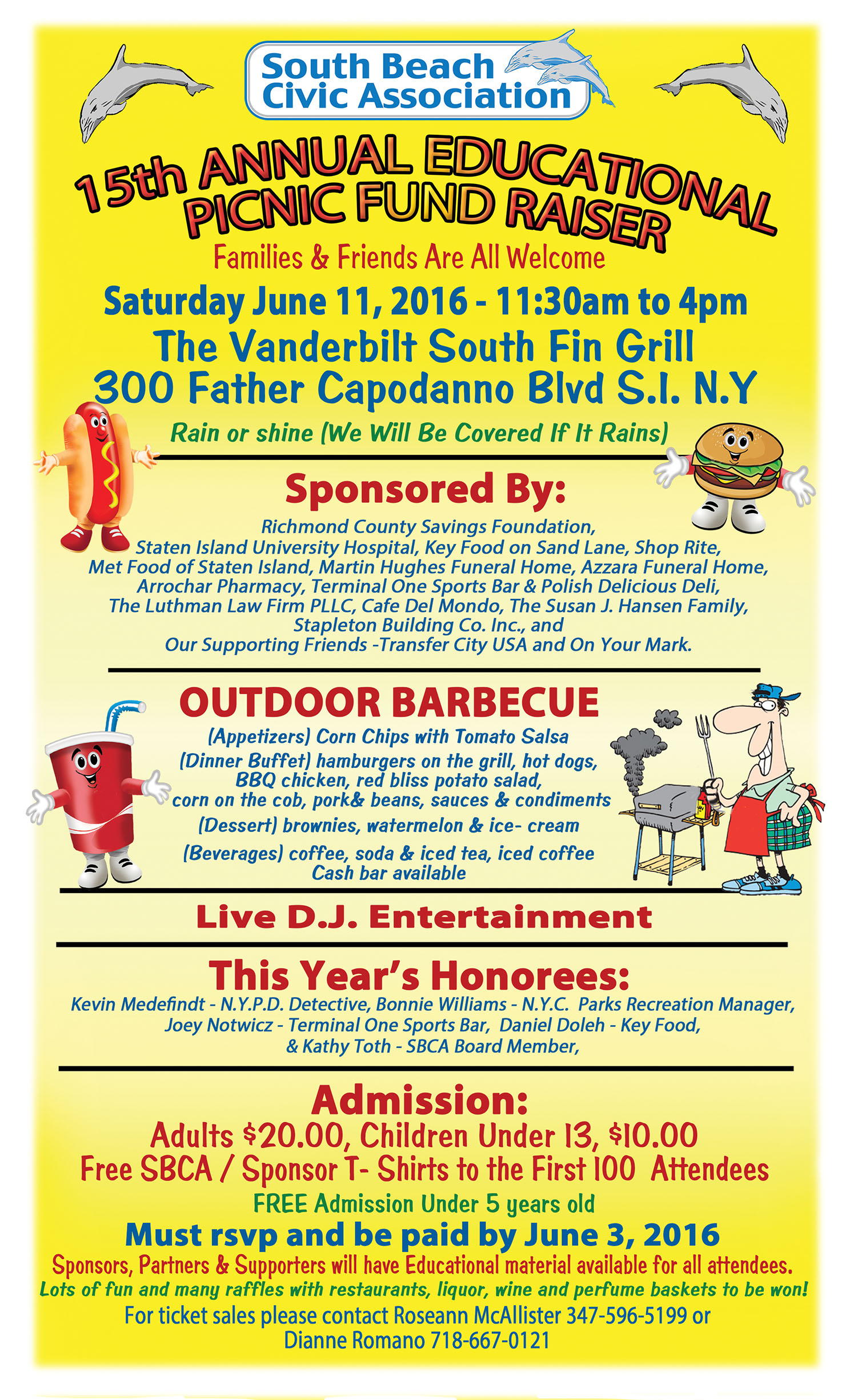 save the date     15th annual educational picnic