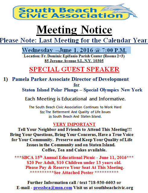 june 2016 notice