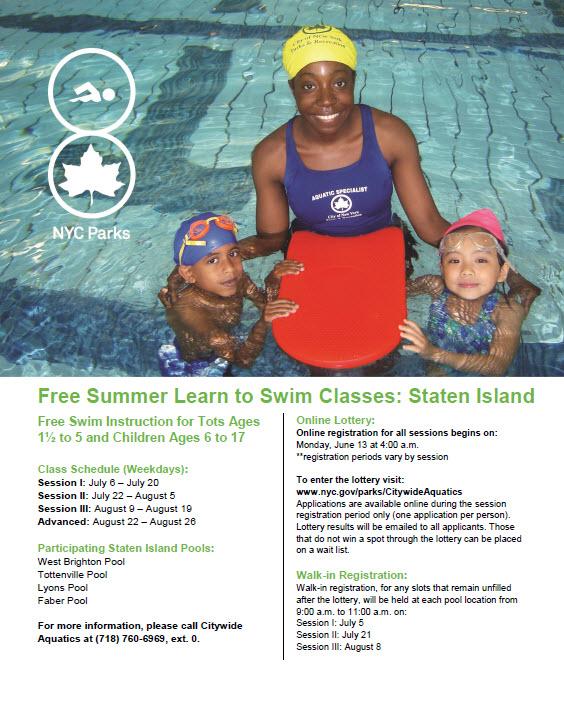 swim lessons 2016