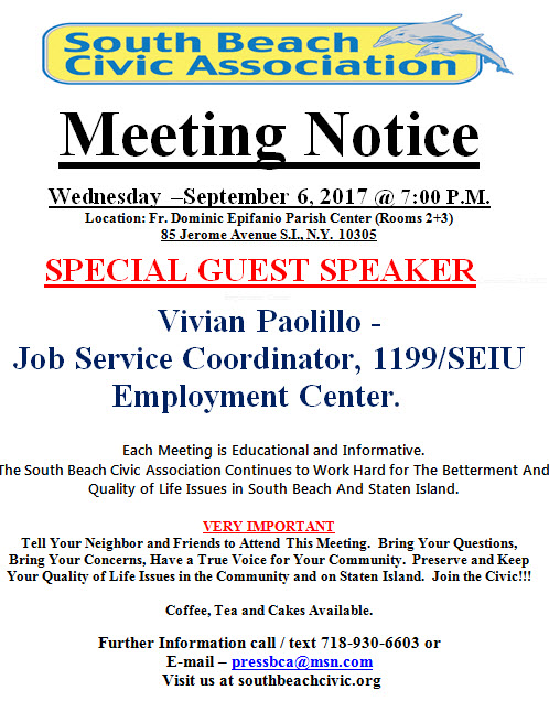 meeting sept 2017