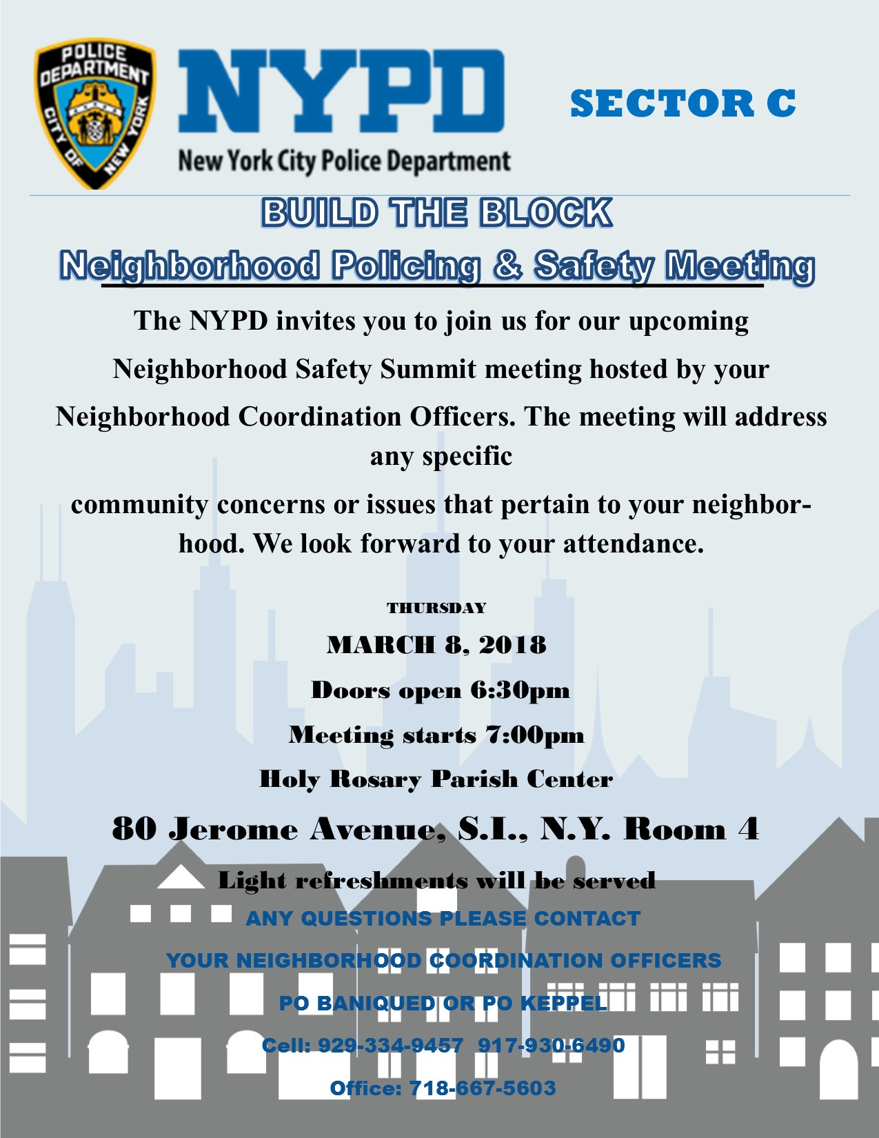 Neighborhood Summit Flyer 030818