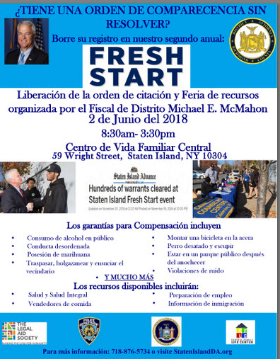 fresh start 2018 espanol